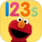 Elmo Loves 123s is one of the best math apps for preschoolers. Available on iPhone or iPad or Android!