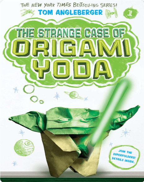 The Origami Yoda series by Tom Angleberger