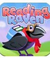 Reading Raven is a great reading app for preschoolers and kindergarteners.