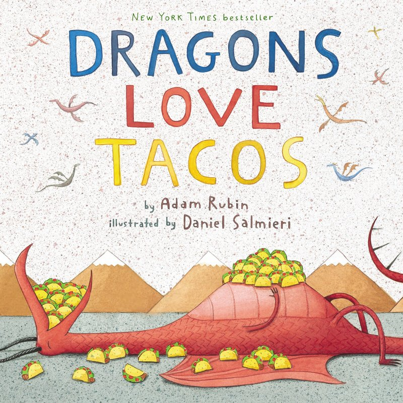 Dragons Love Tacos is one of the best audiobooks for 5-year olds.