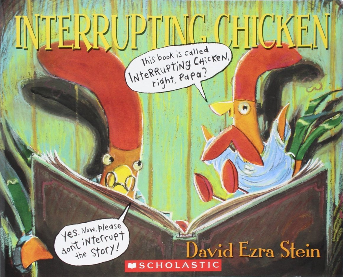 Interrupting Chicken is one of the best audiobooks for 5-year olds.