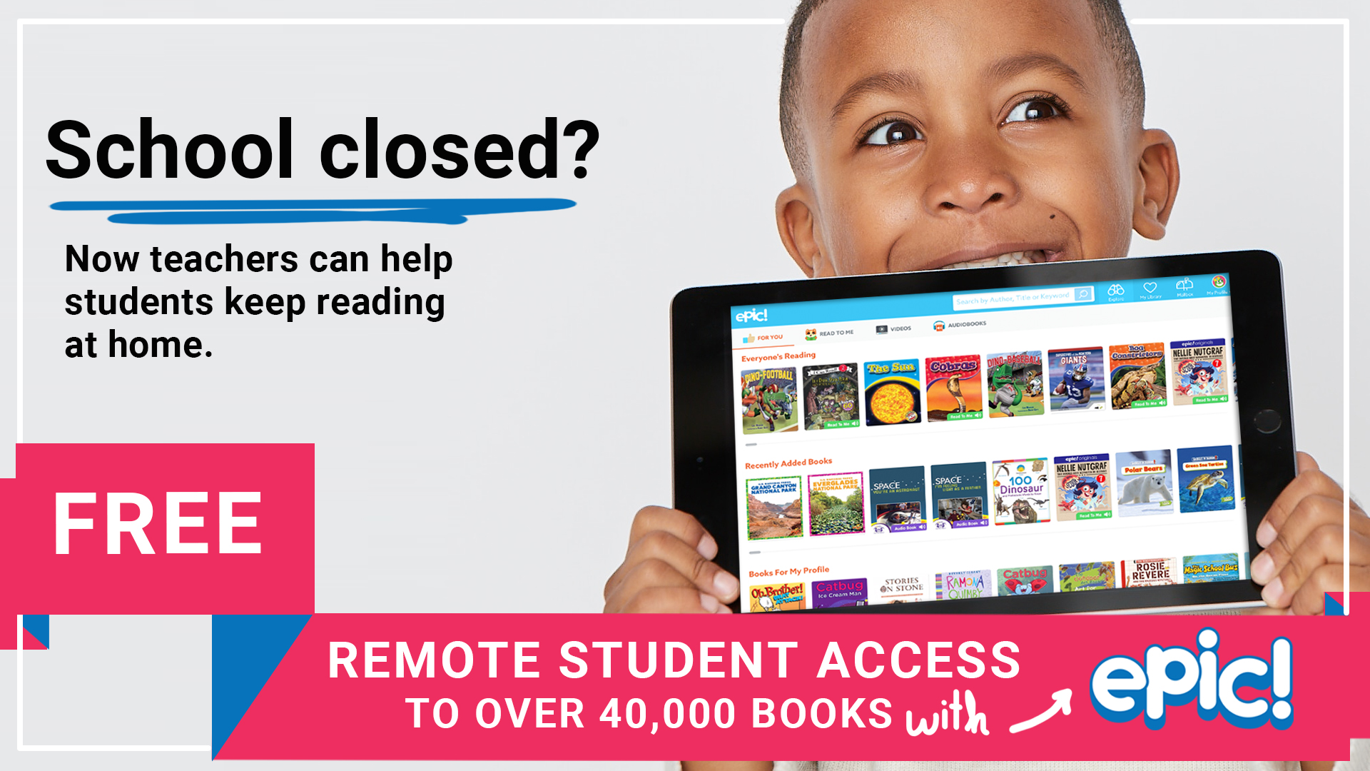 Free Remote Student Access to Library of E-Books