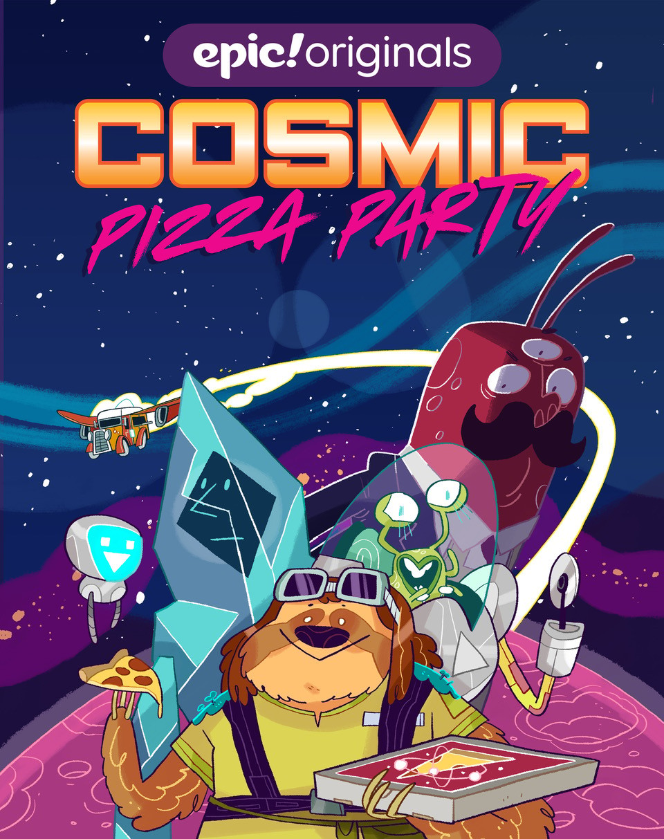 Cosmic Pizza Party: Nothing to Cheese At