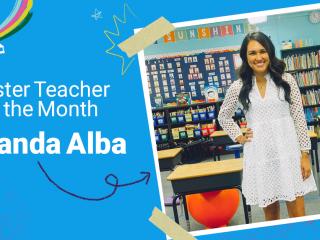 Epic Master Teacher of the Month Amanda Alba