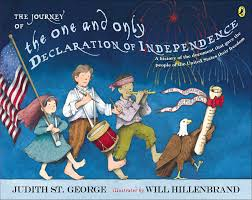 Best History Books for Kids: The Journey of the One and Only Declaration of Independence