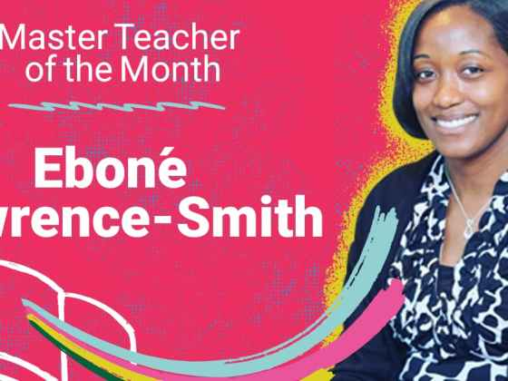 Master Teacher of the Month
