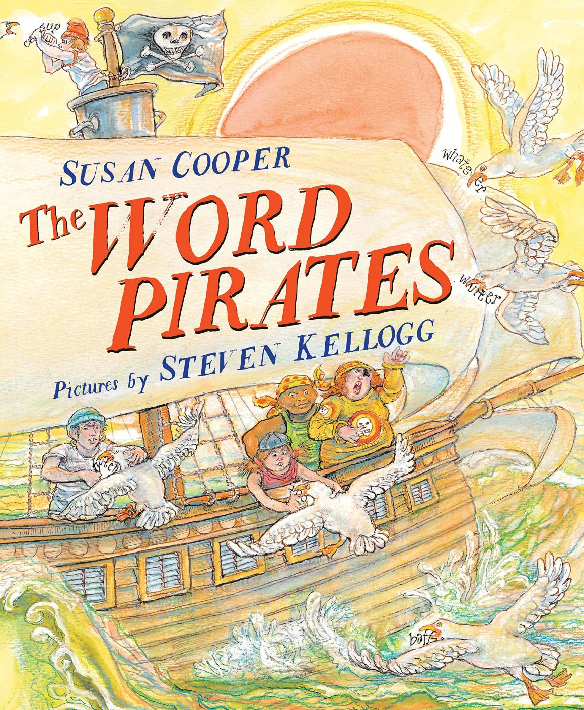 Best fantasy books for kids: The Word Pirates