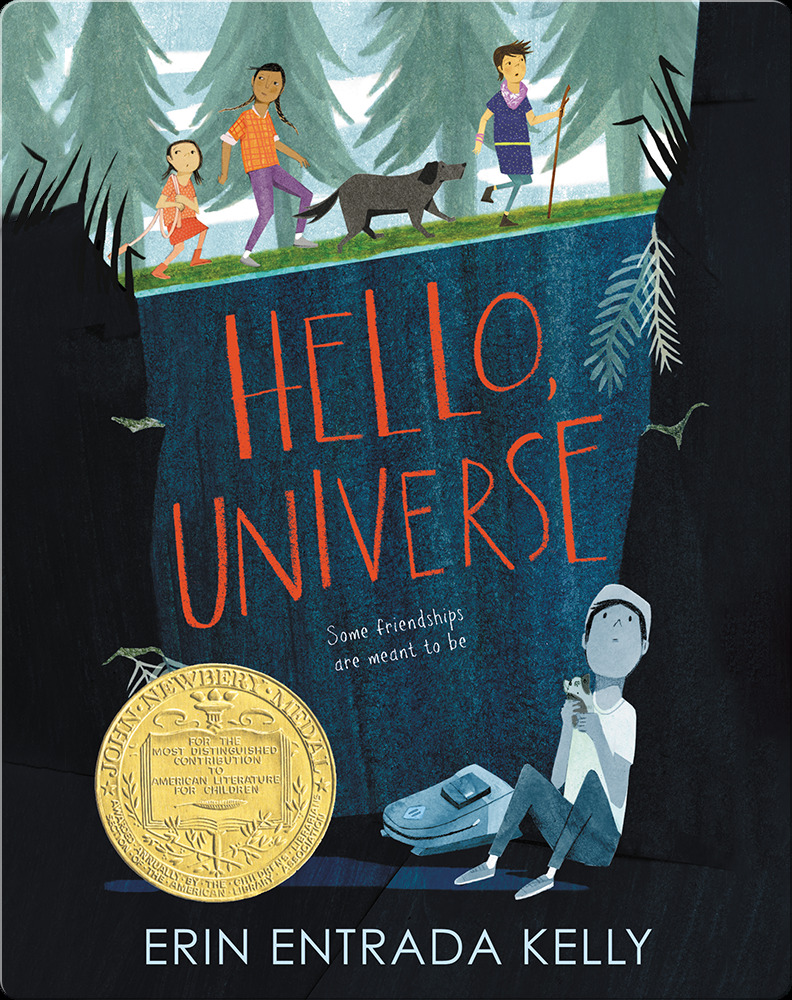 Best books for 6th graders: Hello, Universe