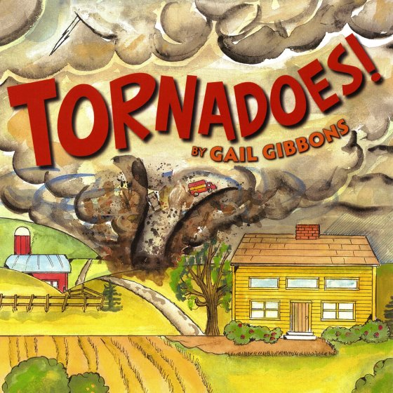 Best nonfiction books for 1st graders: Tornadoes!