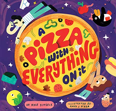 Digital kids' books:  Pizza with Everything On It