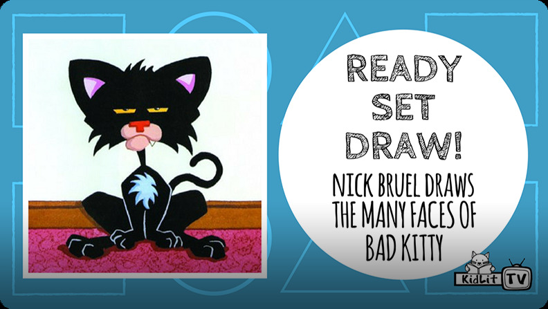 How-to books for kids: Ready Set Draw! How to Draw Bad Kitty