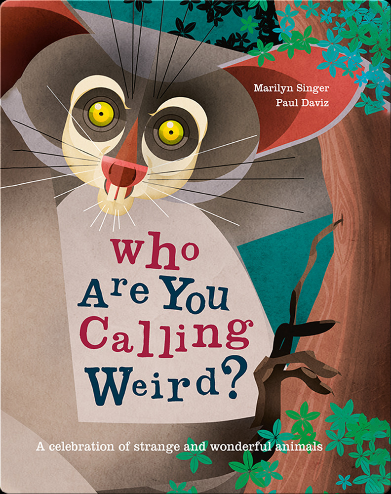 Digital kids' books: Who Are You Calling Weird?