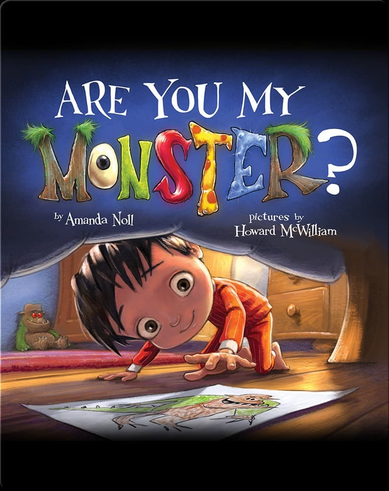 Best books for toddlers: Are You My Monster?