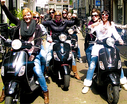 Scooter Tour Amsterdam