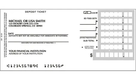 Bank Deposit Slip Template Archives  Excel Templates