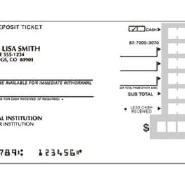 deposit ticket template archives excel templates. Black Bedroom Furniture Sets. Home Design Ideas