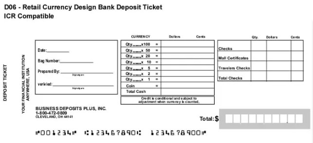 10  deposit slip templates