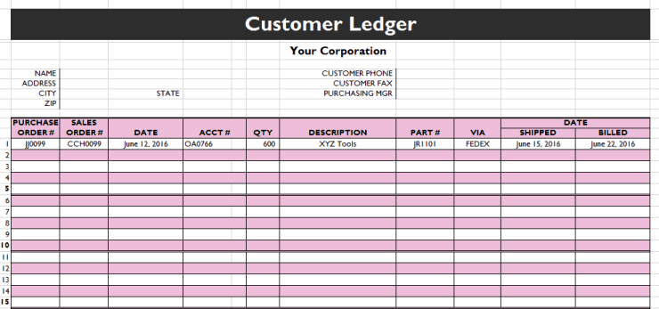 general ledger template 888
