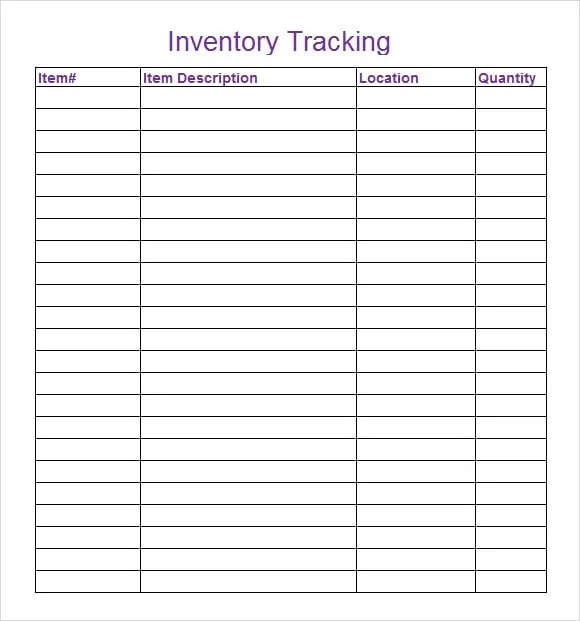 tracking spreadsheet templates