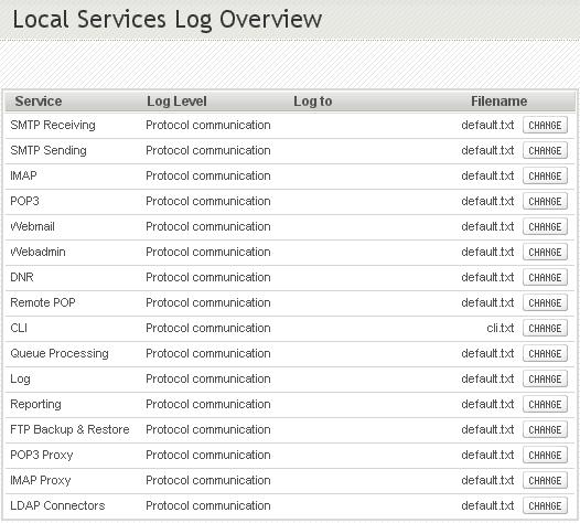service log templaet 555