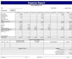 Charming Expense Report 64151