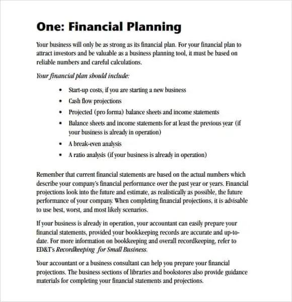 mgt190 business plan