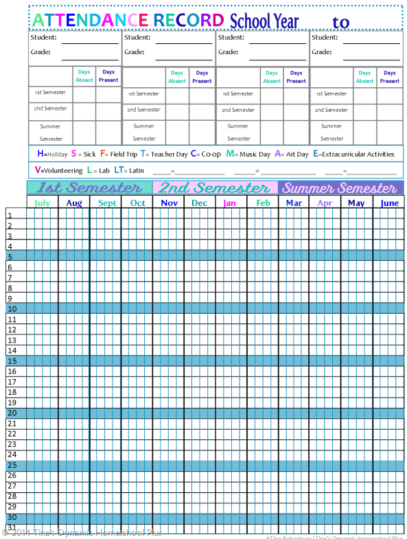 9 Monthly Attendance Sheet Templates Excel Templates