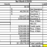 6+ Net Worth Statement Templates