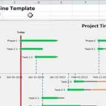Project Management Timeline Excel Template Archives Excel Templates