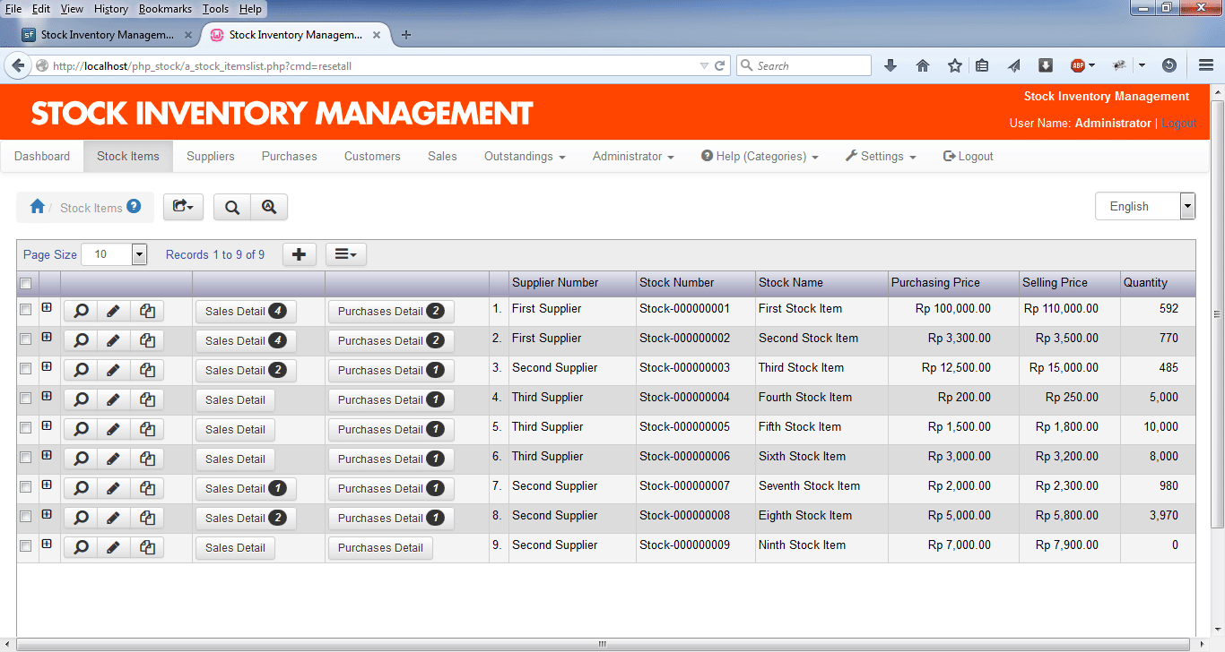 excel based inventory management templates
