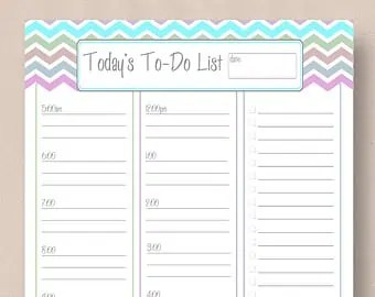 to do list sample