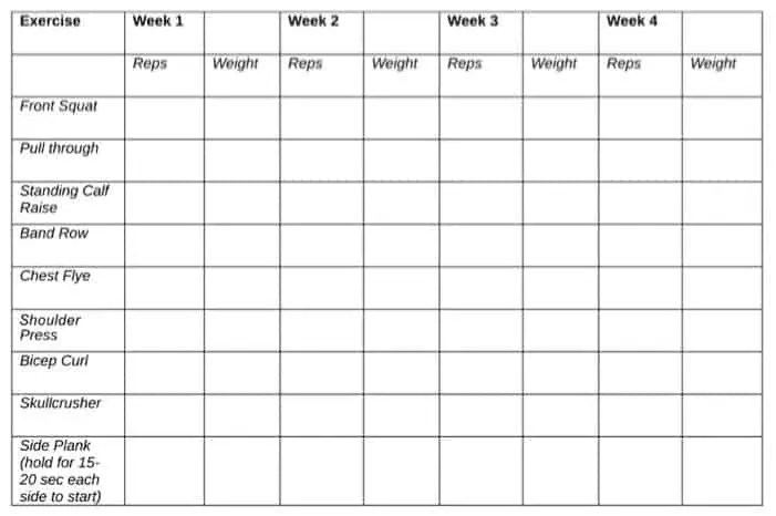 7+ Weight Loss Templates - Excel Templates