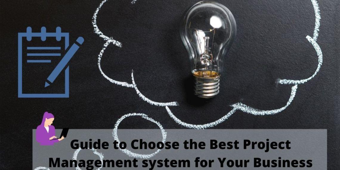Choose Best Project management Software