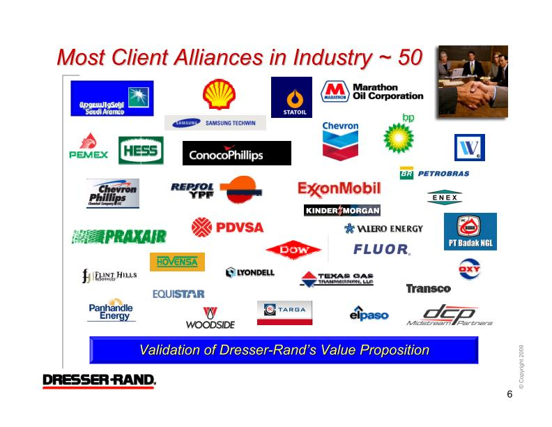 DresserRand Group Inc  FORM 8K  EX991  November 19