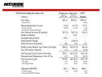 Trucking Profit Loss Statement