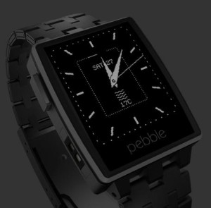 Pebble Steel - fit tech