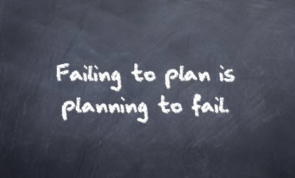 failing to plan