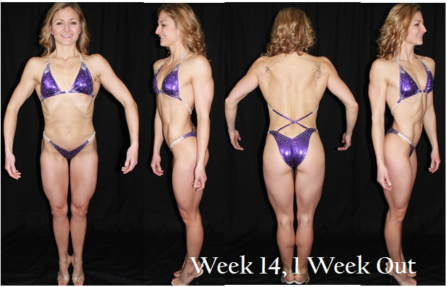 Figure Week 14, 1 Week Out