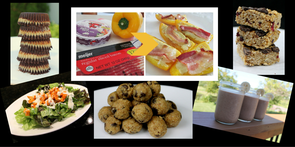Recipe Mash up! Low Fat, High Fat and Tasty Treats in Between!