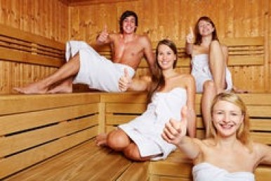 sauna- friends
