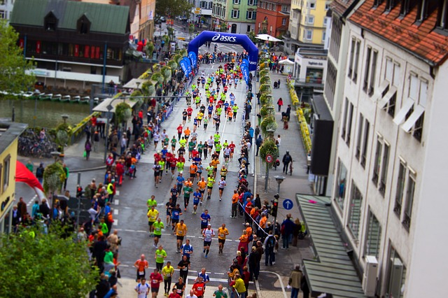 overcome muscle soreness after marathon
