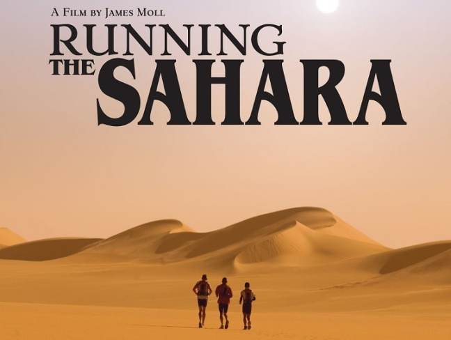 running the sahara: motivational running movie