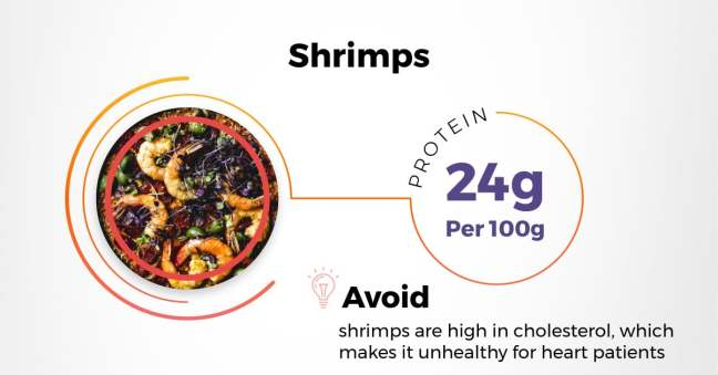 best indian protein rich diet - shrimps