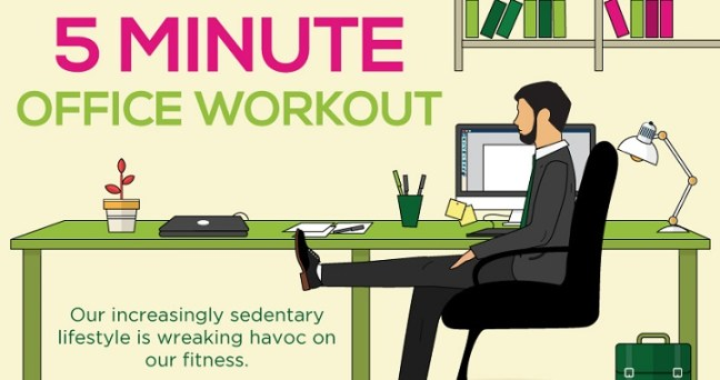 exercises at office