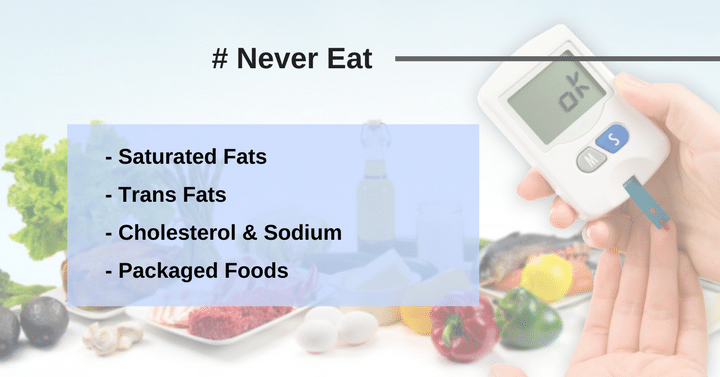 foods to avoid during diabetes