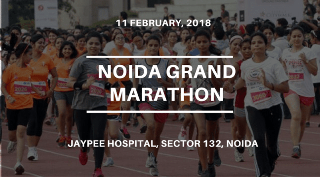 upcoming running events in delhi