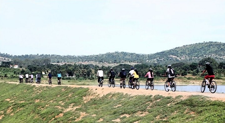 cycling tracks: Cycling in Bangalore