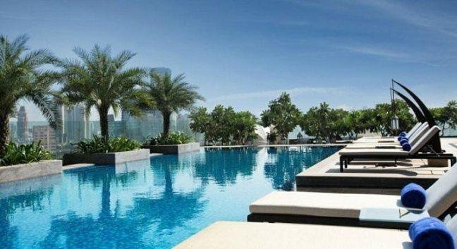 Palladium Hotel Lower Parel: swimming pools in south mumbai