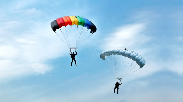 Paragliding: new year resolution