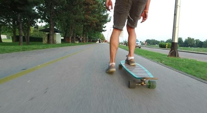 skate board: new year resolution